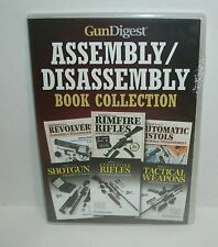 Gun Digest Assembly Disassembly Book collection on CD - 6 books * StepbyStep