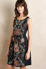 NWT Anthropologie Embroidered Perennial Dress by Moulinette Soeurs Size 10P $198