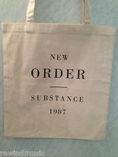 NEW ORDER 'SUBSTANCE' COTTON TOTE BAG