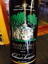 Frank Family Napa Valley Cabernet 2013  **6 BOTTLES**