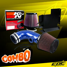 08-13 BMW 128i E82/E88 3.0L 6cyl Blue Cold Air Intake + K&N Air Filter