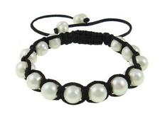 Baroque White Freshwater Pearl Bracelet Inspired by Jewels 9-10mm