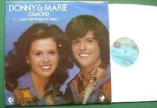 Donny & Marie Osmond Make the World Go Away LP