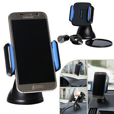 Wireless Qi Car Charger Holder Desk Top Stand Mount For Mobile Phone PDA Sat Nav