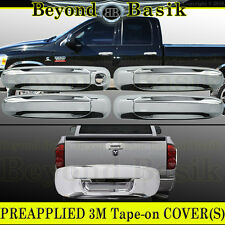 2002-2008 RAM 1500 2003-2009 2500 Chrome 4DR Door Handle Tailgate COVERS 1KH