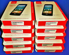 BRAND NEW LOT OF 10 LG optimus ZONE 3 (VERIZON) 4G LTE Prepaid Smartphones