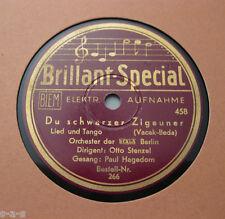 Orch.d.SCALA Bln.Otto Stenzel - Du schwarzer Zigeuner / Drunt' in der Lobau (1)