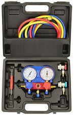 Manometros para Aire Acondicionado con Conectores Rapidos R134A