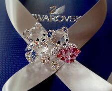 ***Swarovski Crystal Figurine 2014 KRIS BEAR 'IN LOVE' (RETIRED)