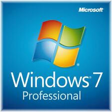 Windows 7 Professional , Vollversion win 7 pro 32 Bit 64 Bit