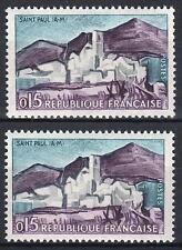 """FRANCE STAMP TIMBRE 1311 """" SAINT PAUL DE VENCE VARIETE COULEUR"""" NEUFxx SUP  M373"""
