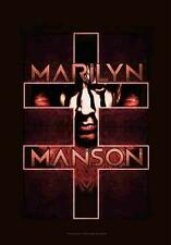 "MARILYN MANSON FLAGGE / FAHNE ""DOUBLE CROSS"" POSTERFLAGGE POSTER FLAG"