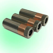 3x 520nm TO18 5.6mm Green Laser Diode Host w/Acrylic lens/RED COPPER Diode base
