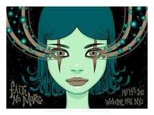 FAITH NO MORE poster New York (night 2) 2015 by Tara McPherson