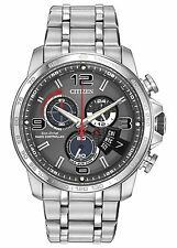 NEW Citizen Eco-Drive BY0100-51H Perpetual Calander Chronograph A-T Watch