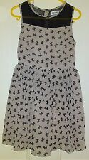 Girls scottie dog summer dress by River Island. Age 5 years. Full petticoat.
