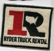 Ryder Truck Rental driver/employee patch 3 X 3-3/8