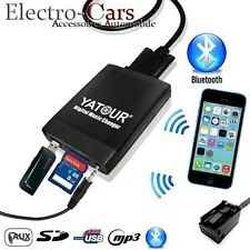INTERFACE USB BLUETOOTH ADAPTATEUR MP3 AUTORADIO COMPATIBLE PEUGEOT 207