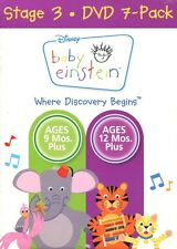 Baby Einstein Stage 3 (DVD, 2007 7-Pack) MINT
