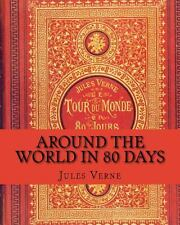 Around the World in 80 Days by Jules Verne (2014, Paperback)