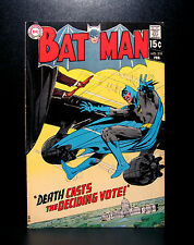 COMICS: DC: Batman #219 (1970), last cover logo/Neal Adams art - RARE (flash)