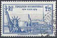 FRANCE EXPOSITION INTERNATIONALE N°426 - OBLITÉRATION CACHET A DATE - COTE 7€