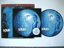 "LOUD - EASY 10"" PIC DISC NUMBERED (000769) + 12"" VINYL SINGLE OF EASY 1992"