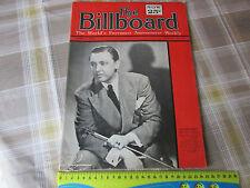 BILLBOARD Weekly Magazine ww2 04/04/1942 Alvino REY Cover & Great Period Adverts