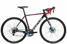 2017 Focus Mares AL Cyclocross Bike SMALL 53cm Aluminium Shimano 105 Disc Brake
