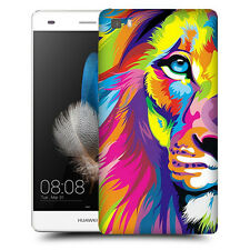 CUSTODIA COVER  per HUAWEI ASCEND  P8 LITE TPU BACK CASE LEONE COLORATO