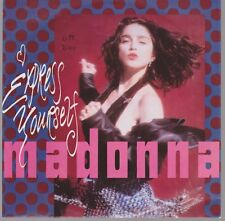 """7"""" Madonna Express Yourself / The Look Of Love 80`s Warner Sire"""