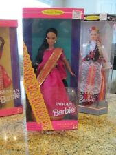 1995 Barbie Dolls of the World Indian India Collector Edition in Box