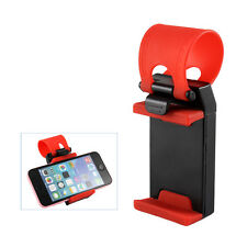 Car Steering Wheel Phone Mount Holder Rubber for iPhone 6S 6 5 Plus Samsung SONY