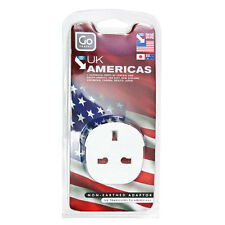 TRANSWORLD ADAPTOR PLUG For Visitors from UK to USA, Australia & Far East 2607-1