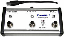KoolKat's 3 Button Footswitch for Mesa Boogie RectoVerb series 1