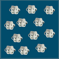 12pcs 6mm Silver Color MAG-LOK MAGNETIC CLASPS