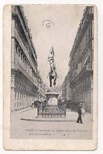 paris  monument de jeanne d'arc  (de frémiet)  rue des pyramides