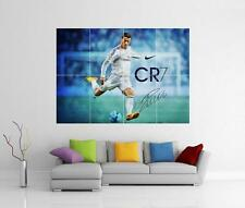 CRISTIANO RONALDO REAL MADRID GIANT WALL ART PHOTO PRINT POSTER