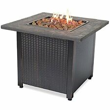 Lp Gas Outdoor Fireplace With Resin Mantel GAD1401M
