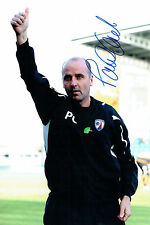 Paul COOK Signed Photo Autograph CHESTERFIELD Promotion Winning Manager AFTAL