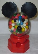 1968 Hasbro Walt Disney Productions Mickey Mouse Clear Face Gumball Bank