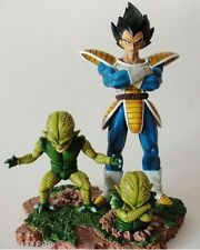 Statue Resin Dragon Ball Z Figurine - Vegeta et Saibaman