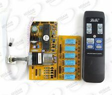 4 stereo channel remote volume control board & input signal selection board ALPS
