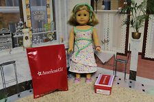 "American Girl Store Exclusive ""Spring Dress + Espadrilles"" - COMPLETE - NIB"