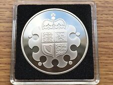 2013 Medal from Royal Mint Proof Set - £5 Crown Size Coin Medallion - Free Case