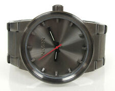 Nixon The Cannon Wrist Watch 100M Stainless Steel Japanese Quartz Movmt 7 Inch