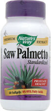 Standard Saw Palmetto Extract, Nature's Way, 60 gelcap