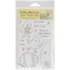 """Inky Antics """"Easter Chick"""" Clear Stamp Set 11030MC"""