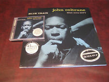 JOHN COLTRANE BLUE TRAIN 200 GRAM 45 SP CLASSIC RECORDS + DVD AUDIO 24/96 DAD CD
