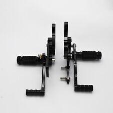 BlacK Rearset Footrest for Honda CBR900RR 893 919 1994-1999/CBR400RR NC29 5 6 7